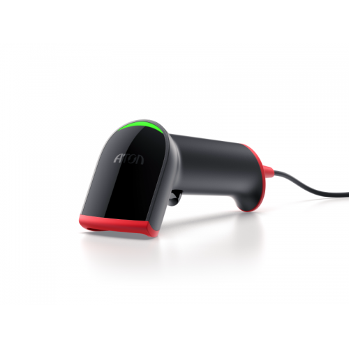 Атол Impulse (2D, чёрный, USB, без подставки)