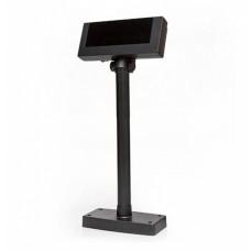 Дисплей покупателя Flytech 2x20 VFD чёрный (на подставке, с внешним блоком питания)