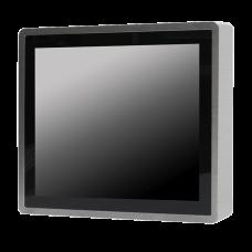 """POS-компьютер  KINGDY, защищенный, алюминиевый корпус / 15"""" сенсорный, IP66, процессор D-J1900,водонепроницаемые разъемы,3х USB, 2х RS232, 2х GLAN, GP150P030S"""