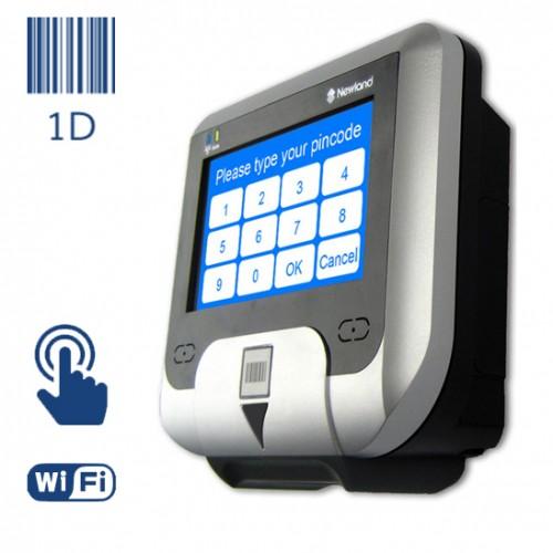 Newland NQuire, LCD 240*128 / 1D Imager, USB/Ethernet/GPIO, Wi-Fi, touch, черный, NQ231RW-C