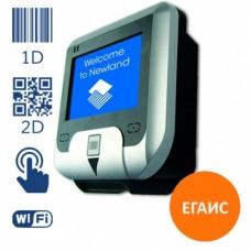Сканер штрих-кода Newland NQuire, LCD 240*128 / 2D Imager, USB/Ethernet/GPIO, Wi-Fi, touch, черный, NQ232RW-C