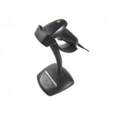 Сканер штрих-кода OL-S670, с подставкой, кнопка+авто / USB HID, черный