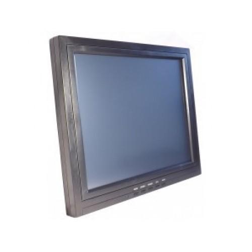 """LCD 15"""" OL-1502, сенсорный, черный / COM, без подставки, 5W"""