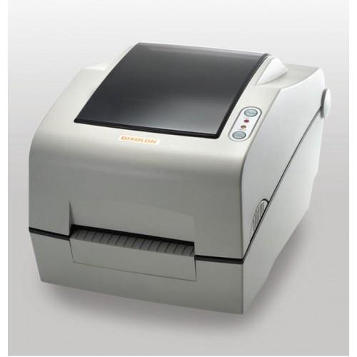 "Bixolon SLP-TX403СE (термо-трансф.; 300dpi; 4""; 127мм/сек; Ethernet, USB,LPT, RS232) отрезчик, белый"