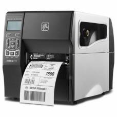 "Zebra ZT230, TT, 4"" / 203 dpi, COM/USB, отрезчик + накопитель этикеток, ZT23042-T2E000FZ"