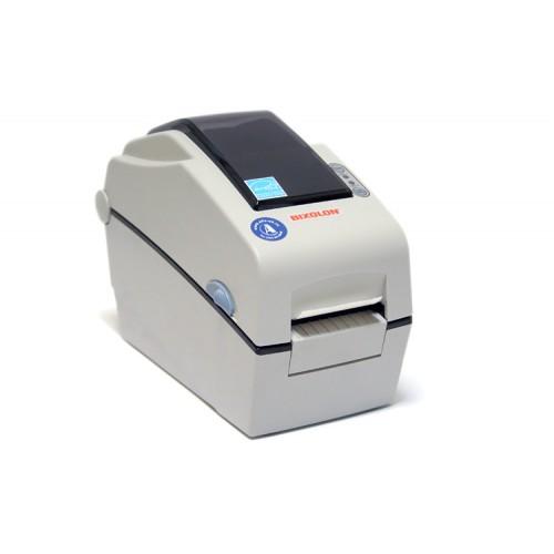 """Bixolon SLP-DX223E (термопечать;300dpi; 2"""";100мм/сек;64MB SDRAM, 128MB Flash;Ethernet;RS232) часы, белый"""