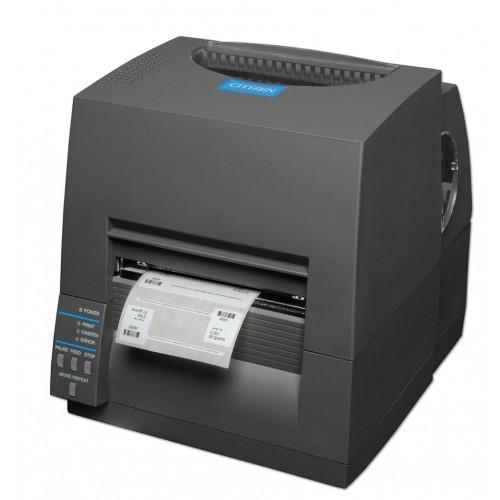 Citizen CL-S631 (Термотрансфер, 300 dpi, USB/RS-232, черный)