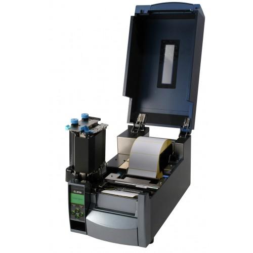 Citizen CL-S700DT (Термопечать, 203 dpi, USB/RS-232/Ethernet, LCD дисплей, металлик)