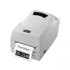 Принтер этикеток Argox OS-2140-SB (термо/термотрансферная печать, интерфейс COM, USB ширина печати 104мм, скорость 100 мм/с)