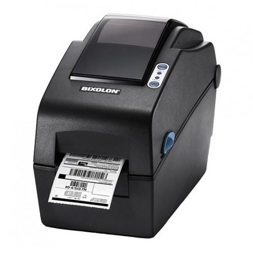 """Bixolon SLP-DX223 (термопечать;300dpi; 2"""";100мм/сек;64MB SDRAM, 128MB Flash;USB,RS232) часы, белый"""