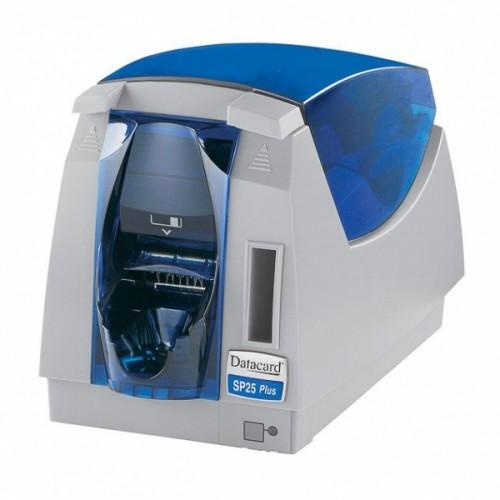 Datacard SP25 Plus Полноцветный, ОДНОсторонний. Термоперезапись. USB