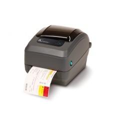 Принтер этикеток Zebra GX430t (300 dpi, RS232, USB, LPT, темно-серый)