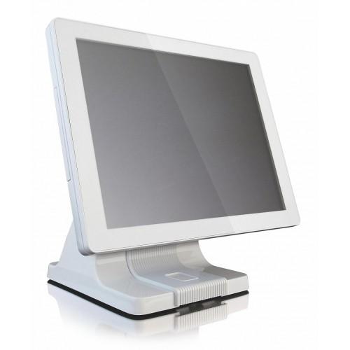 "ШТРИХ-TouchPOS/iTouch 485 TrueFlat белый (15"" TFT P-CAP D36, Intel Celeron J1900 2,0 ГГц Fanless, ОЗУ 2 Гб, HDD от 500 Гб, считыватель магнитных карт (MSR) на 3 дорожки, без ДП, c Windows POSReady 7)"