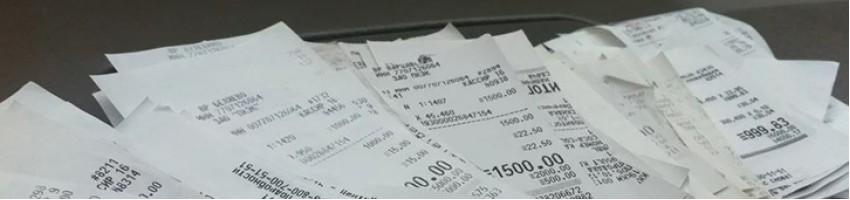 Где смотреть на кассовом чеке номер чека