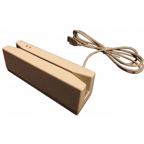 Rx200 / USB HID, 1+2 дорожки, белый, RU250