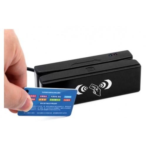 +Mifare карт Rx100-RF / USB HID, 1+2+3 дорожки, черный, RU180-RF