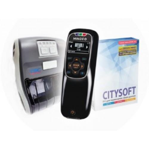 Комплект перемаркировка Lite Mindeo 3690 BT 1D / + принтер Alpha3RB + CitySoft lite MB