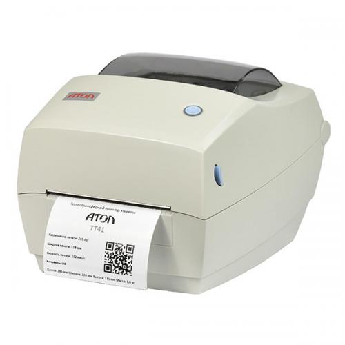 АТОЛ ТТ41 (203dpi, термотрансферная печать, USB, ширина печати 108 мм, скорость 102 мм/с) в Волгограде