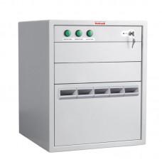 Банковское оборудование DoCash Tempo 8R, 5 прорезей для номиналов, 3 рабочих секции, задержка открытия