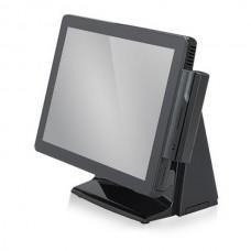 """POS-моноблок EcoPOS i9000, 15"""" сенсорный / Atom D2550, 2 GB, SSD 64Gb, MSR (1+2+3) USB, черный"""