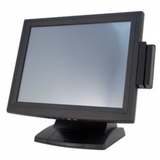 "Монитор POSCenter POS135 (15"", LED, Resistive-USB, MSR123) черный (аналог EVA-150)"