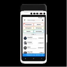 Онлайн-касса  для ИП услугами aQsi 5 Ф с приемом банковских карт