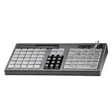 Программируемая клавиатура  Атол KB-76-KU  (rev.2) черная c ридером магнитных карт на 1-3 дорожки