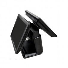 """POS-моноблок OL-P05, 15"""" сенсорный / 2 RAM, SSD, MSR (1+2) USB, USB (5W), LCD, J1900/2xCOM"""