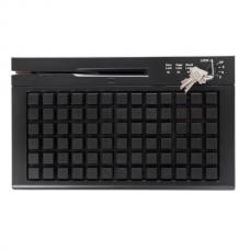 Программируемая клавиатура  PayTor Heng Yu S78A USB, Считыватель MSR, Черный, 78 клавиш