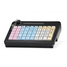 Программируемая клавиатура  Атол KB-50-U (rev.2) черная c ридером магнитных карт на 1-3 дорожки
