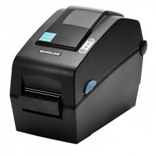 """Принтер этикеток Bixolon SLP-DX220D (термопечать;203dpi; 2"""";152мм/сек;64MB SDRAM, 128MB Flash;USB,RS232)отделитель, часы, белый"""