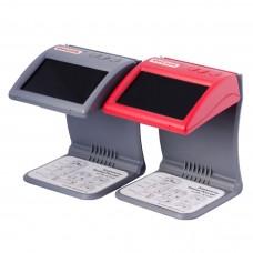 Детектор банкнот DoCash mini (red), ИК детектор, ЖК дисплей (красный)