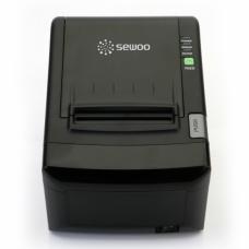 Принтер чеков Sewoo LK-T12US (200мм/сек., USB, Serial) чёрный, сменная плата