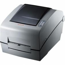 """Принтер этикеток Bixolon SLP-TX400DE (термо-трансф.;203dpi; 4""""; 178мм/сек; Ethernet,USB,LPT) отделитель белый"""