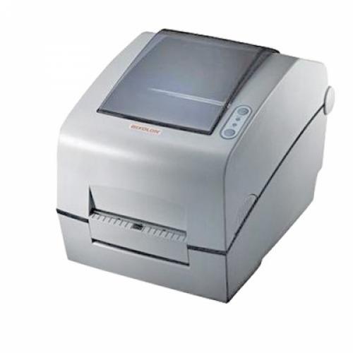 """Bixolon SLP-TX400DG (термо-трансф.;203dpi; 4""""; 178мм/сек; USB,LPT, RS232) отделитель, черный"""