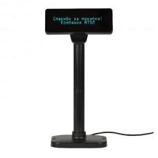 Дисплей покупателя Атол PD-2800 USB, черный, зеленый светофильтр