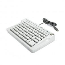 Программируемая клавиатура  POSua LPOS–084 с ключом, бежевая