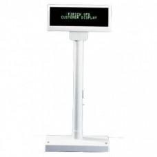Дисплей покупателя OL-2029 / COM с питанием от USB, белый