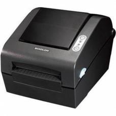 """Bixolon SLP-D420 (термопечать;203dpi; 4"""";152мм/сек;4MB/8MB;USB,RS232,LPT) белый"""