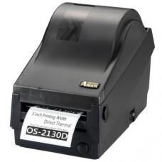 Argox OS-2130D-SB (термо печать, интерфейсы COM и USB, ширина печати 72 мм, скорость 104 мм/с)