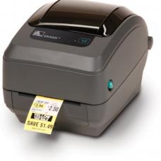 Принтер этикеток Zebra GK420t (203 dpi, USB,10/100 Ethernet, темно-серый)