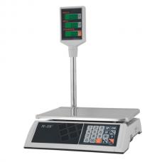 """Весы M-ER 326 ACP-15.2 """"Slim"""" LED Белые"""