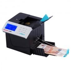 Детектор банкнот DoCash CUBE (с АКБ), автоподача банкнот, распознавание номиналов, встроенный акк.
