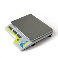 Весы ШТРИХ-СЛИМ Т300 15 - 2,5 ДП6.3А (LCD, с акк, со стойкой, без интерфесов, размер платформы 310х225х10)