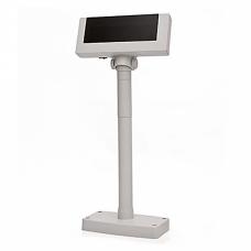 Дисплей покупателя Flytech 2x20 VFD белый (на подставке, с планкой питания)