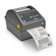 "Принтер этикеток Zebra ZD420d, DT, 4"" / 203 dpi, USB/USB-host, Wi-Fi/Bluetooth, ZD42042-D0EW02EZ"