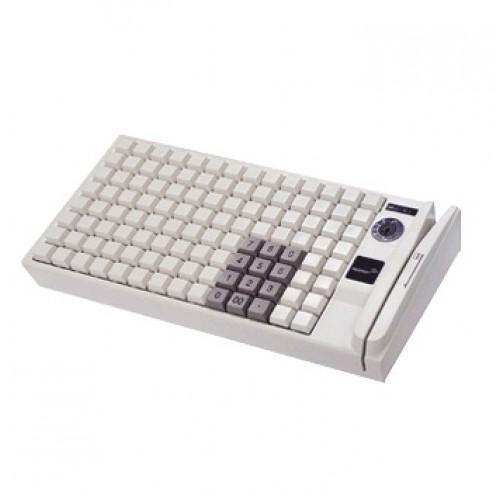 Штрих KB-PION306 (79 клавиш; PS/2; MSR123; ключ) бежевая, арт. PP30679_L_MSR123_PS/2_W