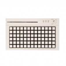 Программируемая клавиатура  Heng Yu S78A USB, Считыватель MSR, Белый, 78 клавиш