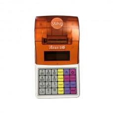 Онлайн-касса Бело-оранжевая дешевые  АГАТ 1Ф