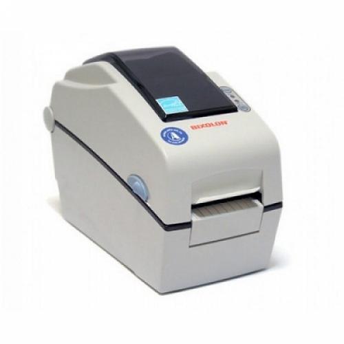 """Bixolon SLP-DX220 (термопечать;203dpi; 2"""";152мм/сек;64MB SDRAM, 128MB Flash;USB,RS232) часы, белый"""